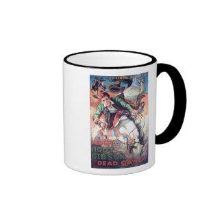 Vintage western movie poster mug