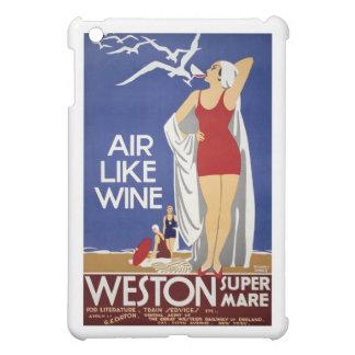 Vintage Weston Travel Poster iPad Mini Case
