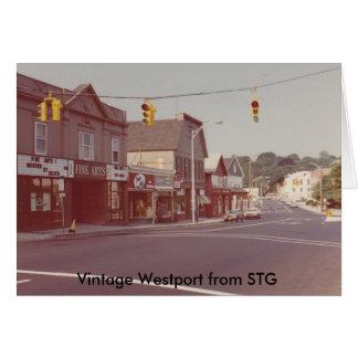 Vintage Westport Notecard - Fine Arts Theatre