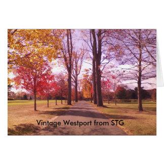 Vintage Westport Notecard - Longshore