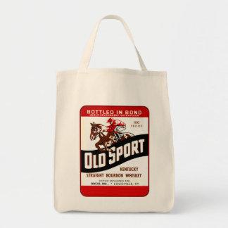 Vintage Whiskey Ad Tote Bag