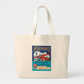 Vintage Whiskey Food Product Label Canvas Bags
