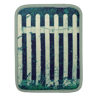 Vintage White Fence Sleeves For iPads