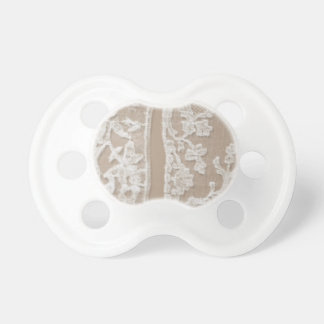 Vintage White Lace Baby Pacifiers