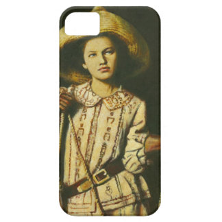 Vintage Wid West Cowgirl iPhone 5 Case-Mate