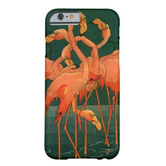 Vintage Wild Animals Birds, Pink Flamingos Tropics Barely There iPhone 6 Case