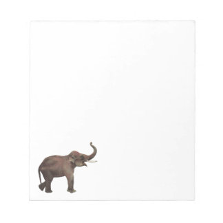 Vintage Wild Animals, Good Luck Asian Elephants Notepads