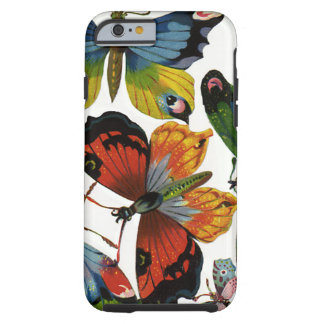 Vintage Wild Animals, Insects, Bugs, Butterflies Tough iPhone 6 Case