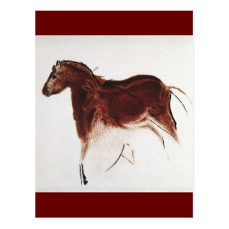 Vintage Wild Horse Cave Painting Postcards