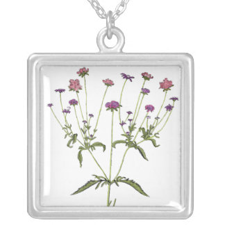 Vintage Wildflower Necklace