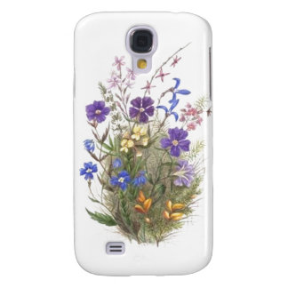 Vintage Wildflowers Galaxy S4 Case