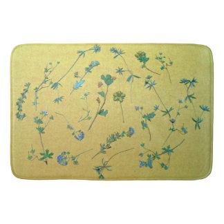 Vintage Wildflowers III Bath Mat