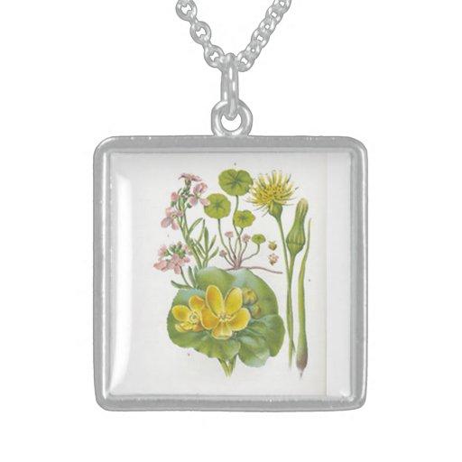 Vintage Wildflowers Necklace