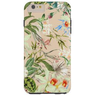Vintage Wildflowers Pattern Tough iPhone 6 Plus Case