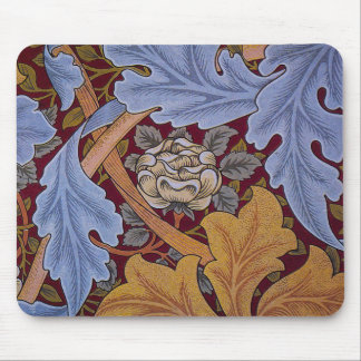 Vintage William Morris Acanthus Design Mouse Pad