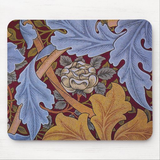 Vintage William Morris Acanthus Design Mousepads