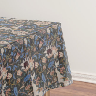 Vintage William Morris Evenlode Textile Design Tablecloth