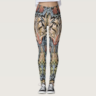 Vintage William Morris Snakeshead GalleryHD Leggings