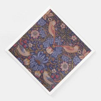 Vintage William Morris Strawberry Thief Paper Napkins