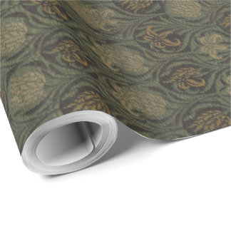 Vintage William Morris Tulip and Lily Wrapping Paper