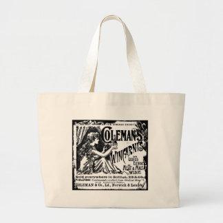 Vintage Wincarnis Tonic Ad Canvas Bags