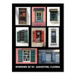 Vintage Windows of St. Augustine, Florida Postcards