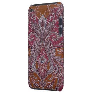 Vintage Wine Copper Damask Case-Mate iPod Touch Case-Mate iPod Touch Case