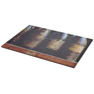 Vintage Wine Cutting Board
