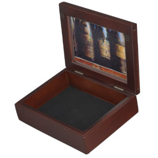 Vintage Wine Keepsake Box