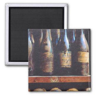 Vintage Wine Magnet