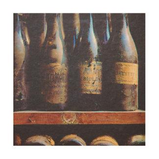 Vintage Wine Wood Wall Art