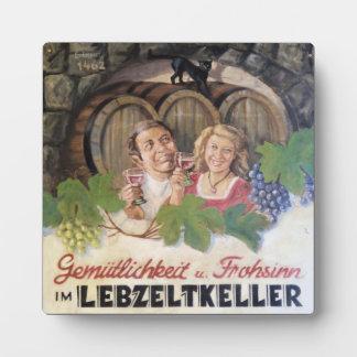 Vintage Winery plaque