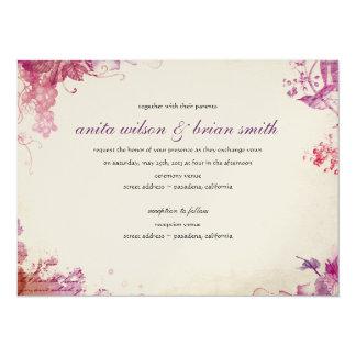 Vintage Winery Wedding Invitation