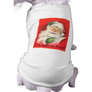 Vintage Winking Jolly Santa Claus Shirt