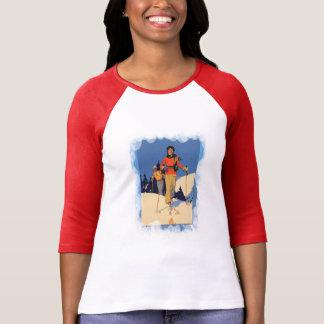 Vintage Winter Sports - Ladies on the piste T-shirt
