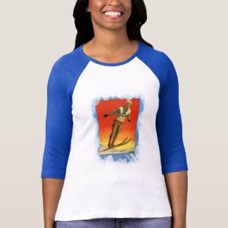 Vintage Winter Sports - Ski jump Tshirt