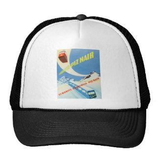 Vintage winter sports, ski poster trucker hats