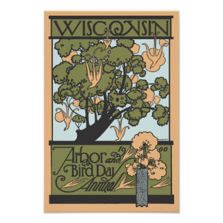 Vintage Wisconsin Print