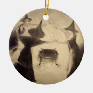 Vintage Witch Ornament
