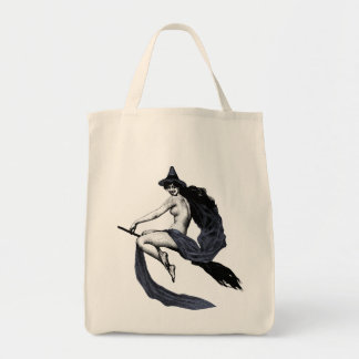 Vintage Witch Tote Bag