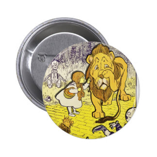 Vintage Wizard of Oz 1st Edition Print 6 Cm Round Badge