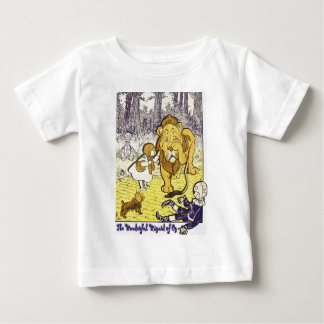 Vintage Wizard of Oz 1st Edition Print Baby T-Shirt