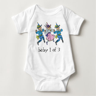 Vintage Wizard of Oz, Baby 1 of 3 Triplets! Baby Bodysuit