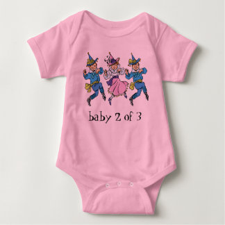 Vintage Wizard of Oz, Baby 2 of 3 Triplets! Baby Bodysuit