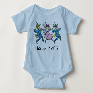 Vintage Wizard of Oz, Baby 3 of 3 Triplets! Baby Bodysuit
