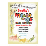Vintage Wizard of Oz Baby Shower Invitations