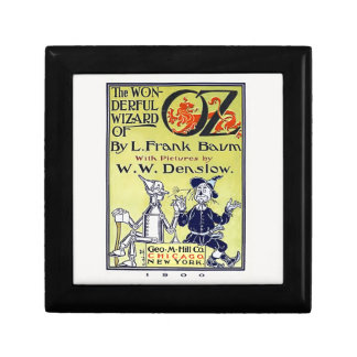 Vintage Wizard of Oz Book Cover Gift Box