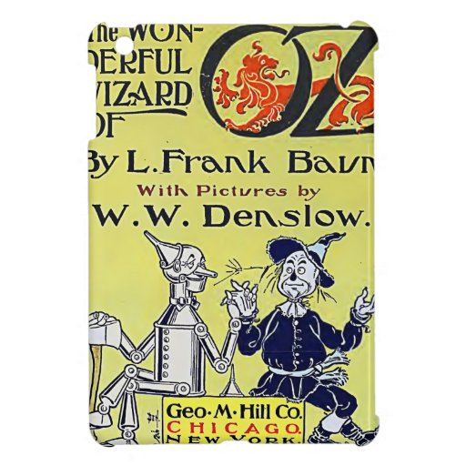 Vintage Wizard of Oz Book Cover iPad Mini Covers