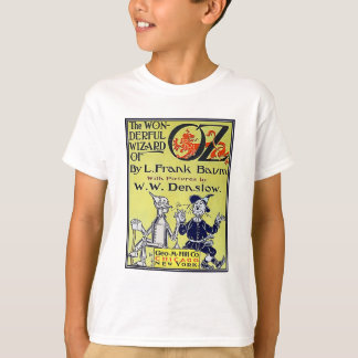 Vintage Wizard of Oz Book Cover T-shirts