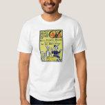 Vintage Wizard of Oz Book Cover Tshirt